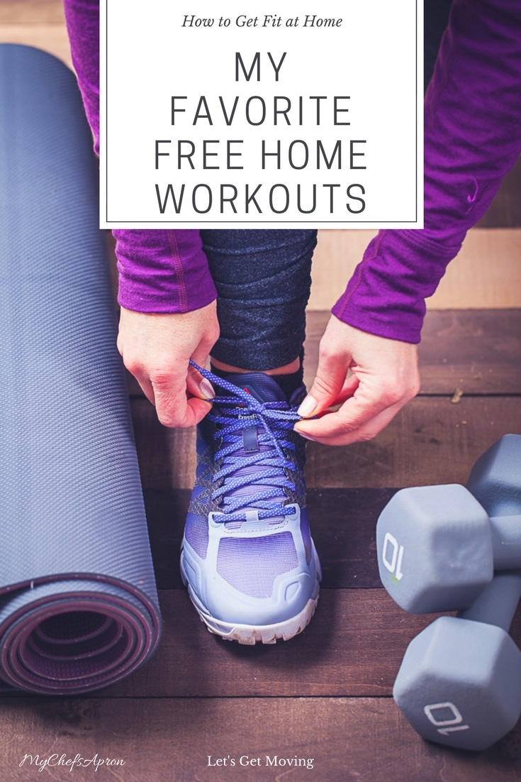 How To Get Fit at Home:My Favorite Free Home Workouts