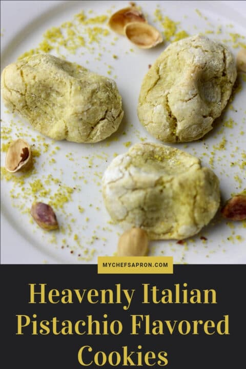 How to Make Heavenly Italian Pistachio Flavored Cookies