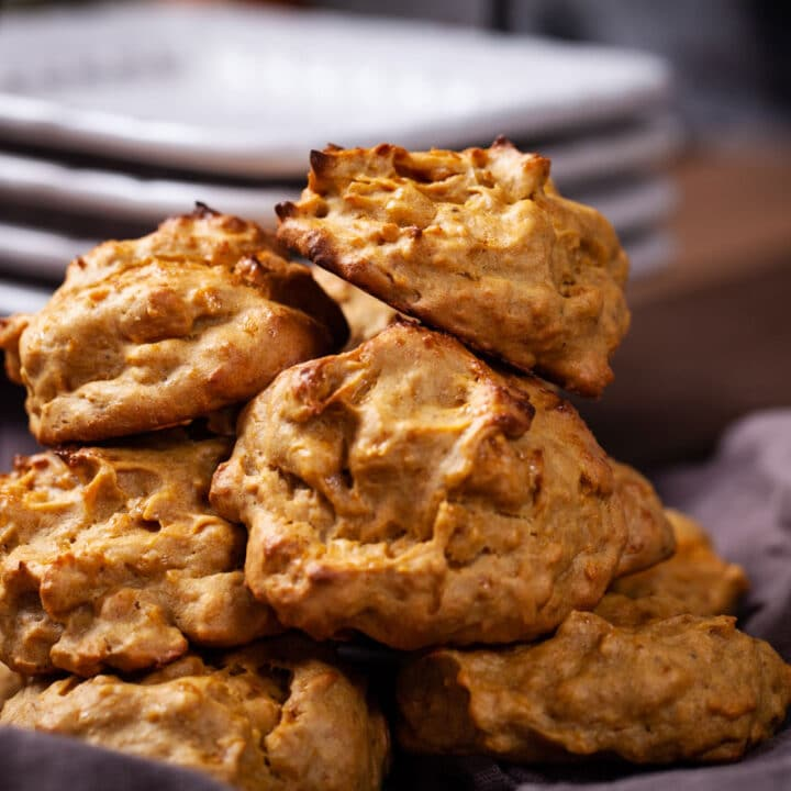 Golden Healthy and Grain-Free Mango Cookies