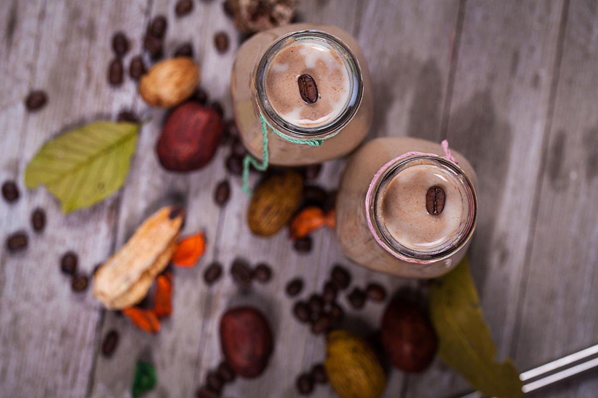 Protein-rich breakfast coffee Smoothie