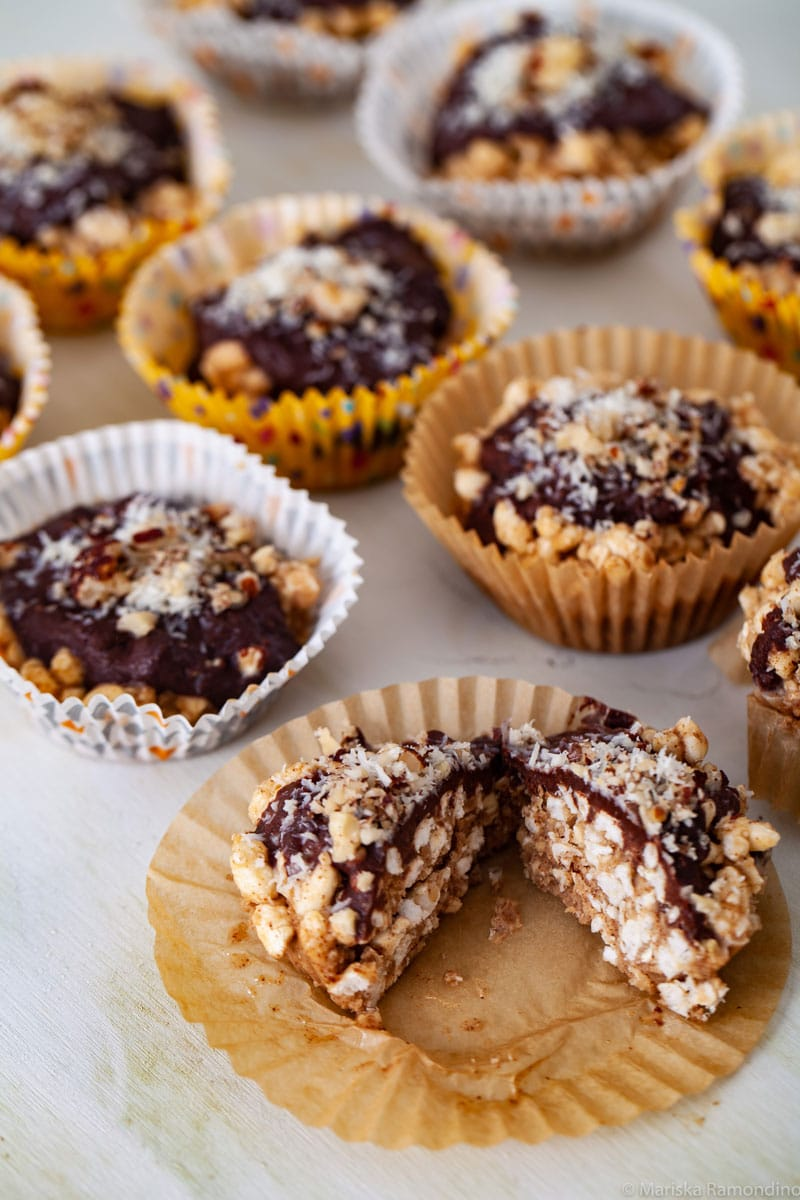 Rice Crispy Cupcake Treats