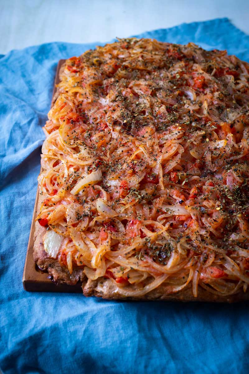 THICK-CRUST SICILIAN-STYLE PIZZA (VEGAN)