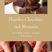 Melt In Your Mouth flourless Brownies