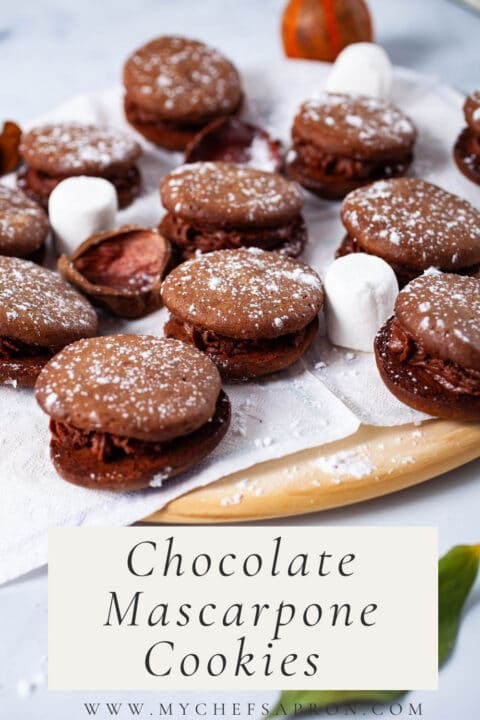 Chocolate Mascarpone Cookies.
