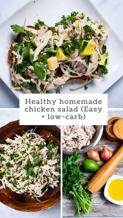 Healthy Homemade Chicken Salad (Easy + Low-Carb)