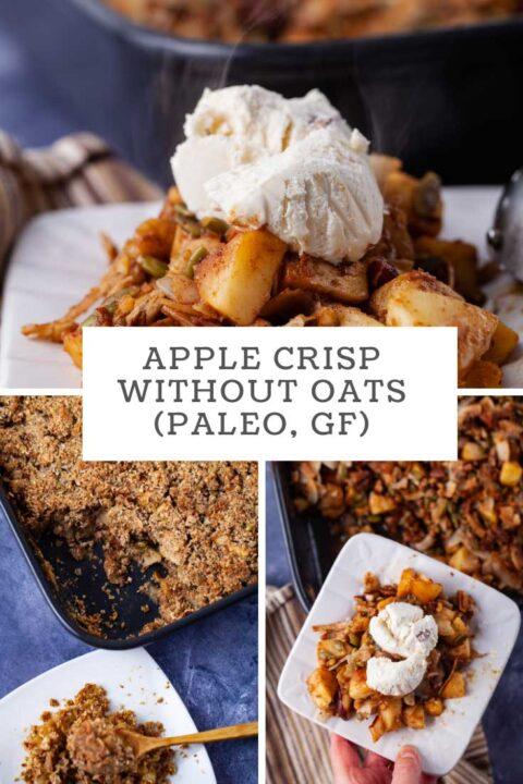 Apple Crisp without Oats (Paleo, GF)