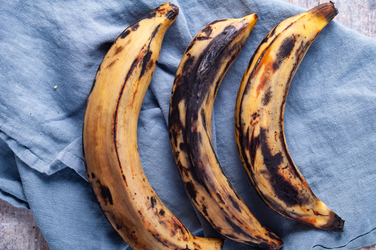 Ripened sweet plantains