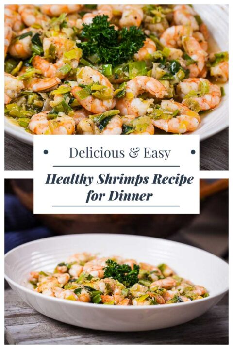 Delicious and Easy healthy Shrimps Recipe for Dinner.
