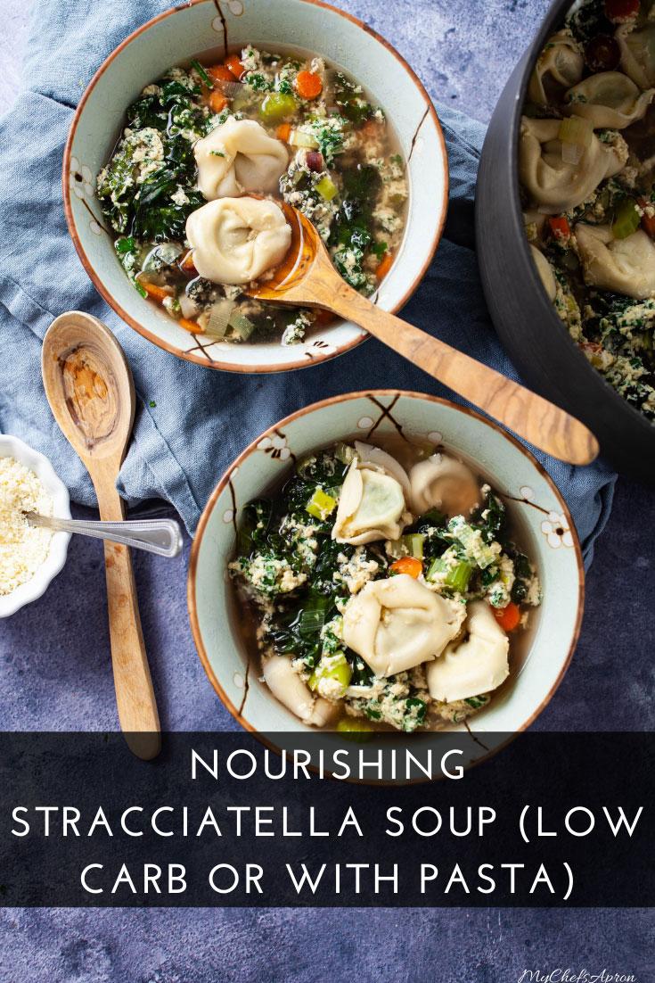Low carb Stracciatella Soup Recipe