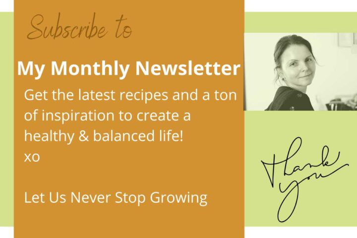 Subscribe to my MyChefsApron monthly newsletter.