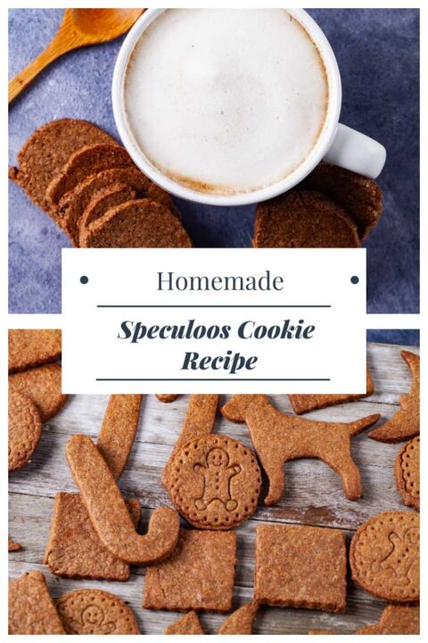 Homemade Speculoos Cookie Recipe.